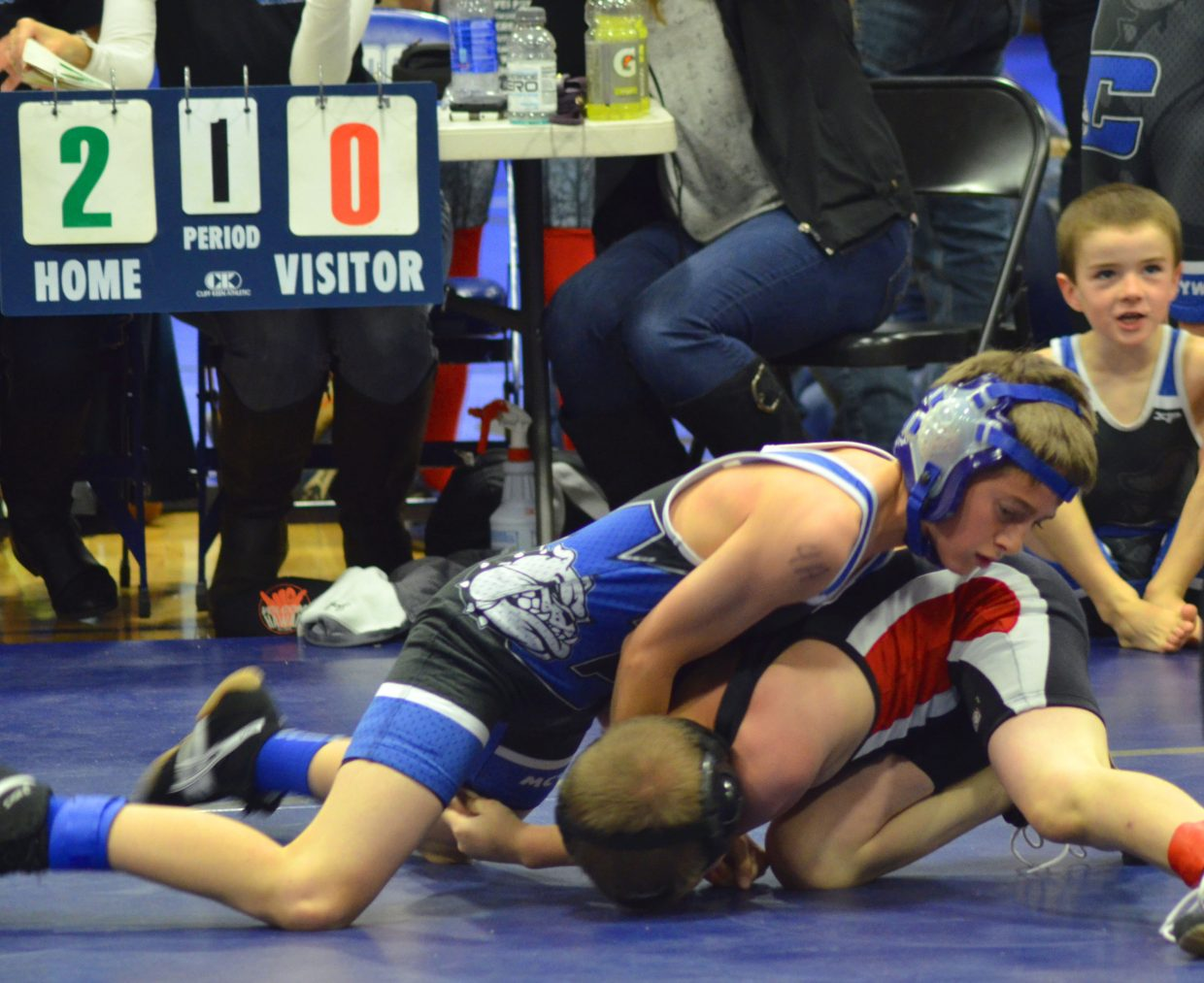 Youth wrestling grabs huge attention Saturday in Craig
