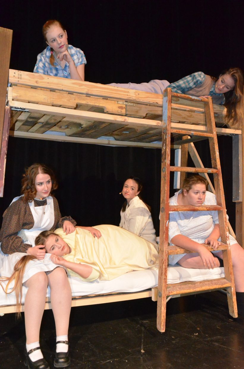 Annie and her fellow orphans dream of a better life in