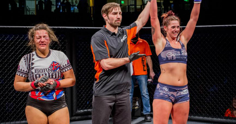 Holli Salazar packs a powerful punch to win MMA pro debut