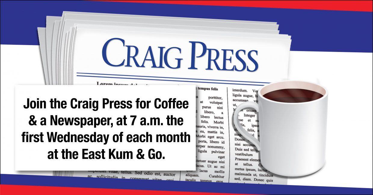 June's Coffee & a Newspaper meeting to feature VP of CNCC's Craig campus