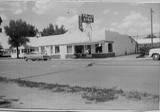 The Truck Stop Restaurant, as it appeared in 1965.