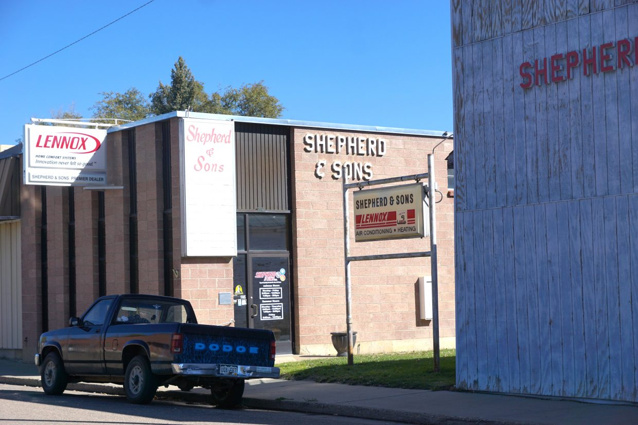 Shepherd and Son's began in a basement of another building before M.L. Shepherd built his business where it stands today, on Russell Street.
