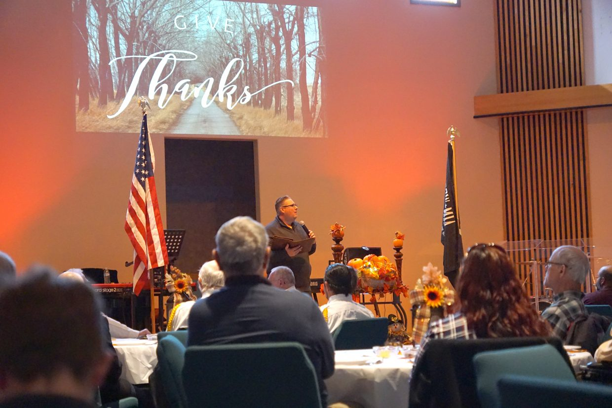Pastor Tony Bohrer challenges everyone to find something to be grateful for every day and if that fails, to be thankful for God's everlasting mercy.