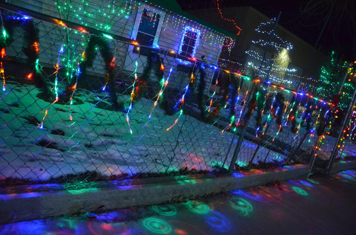 The Medrano home at 375 Tucker St. in the 2018 Holiday Tour of Lights.