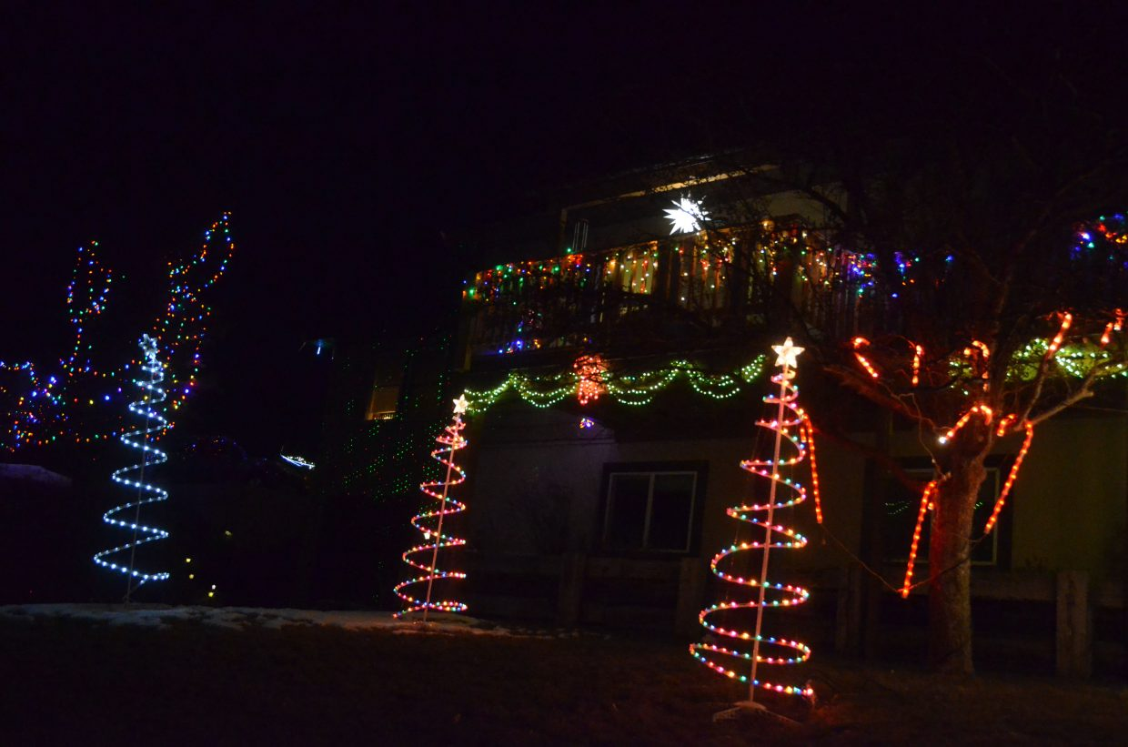 The Looper home at 875 Jerimiah Ave. in the 2018 Holiday Tour of Lights.