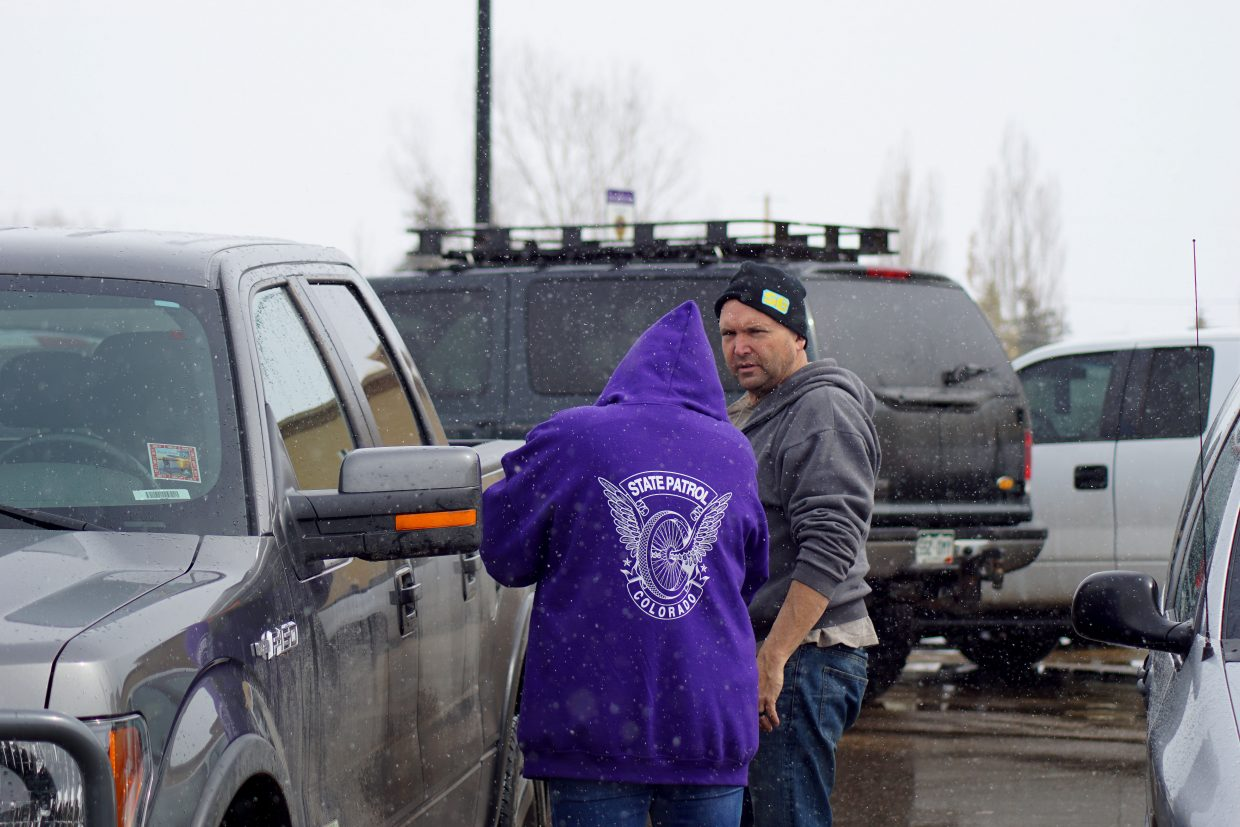 Some drivers were initially guarded when approached by Craig dispatchers.
