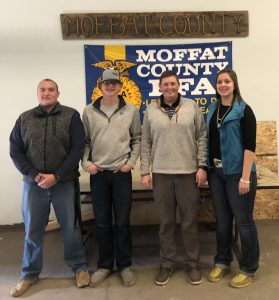 Moffat County agriculture instructor Brett Miller brings barnyard learning to classroom