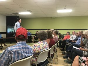 Residents discuss Yampa Building issue at Moffat County School District town hall