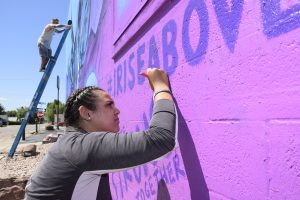 Rise Above mural blends natural beauty of Craig with message of recovery, strength
